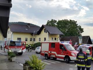 Brandeinsatz Maria Saal 15.07.2015