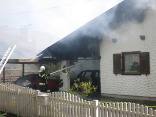 Wohnhausbrand in Treffelsdorf 12.09.2015