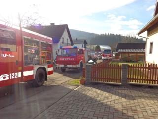 Entstehungsbrand in Eixendorf 01.12.2015