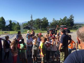 Besuch der Volksschule 29. Juni 2016