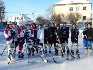 Eishockey Spiel unserer Feuerwehrdamen