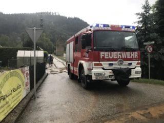 Unwettereinsätze in der Gemeinde Magdalensberg