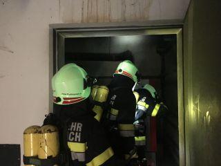 Monatsübung November 2018 – Brandeinsatz