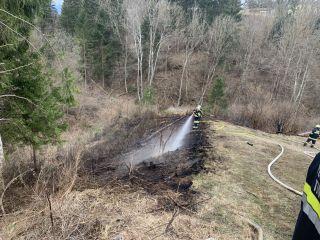 Waldbrand Göriach – 11. März 2019