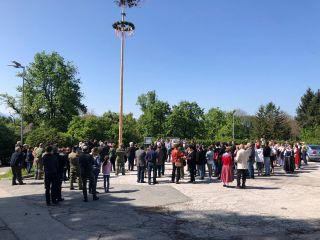 Maibaumaufstellen in Ottmanach – 1. Mai 2019