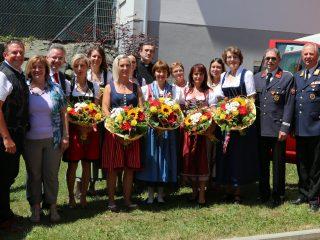 Fahrzeugsegnung BKLFA und MTFA Ottmanach