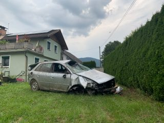Schwerer Verkehrsunfall L86b Timenitzer Landesstraße (Marktgemeinde Magdalensberg)
