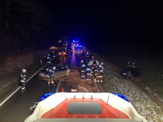 Schwerer Verkehrsunfall B92 Görtschitztal Straße
