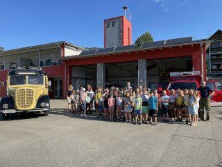 Besuch der Volksschule Magdalensberg