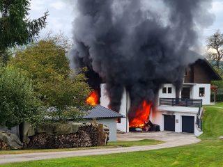 Garagenbrand in Stuttern – 16.09.2021